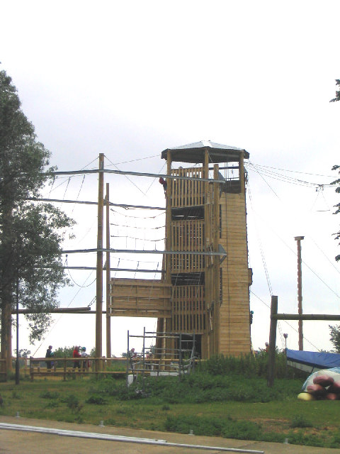 Climbing Tower, Stubbers Outdoor Pursuit Centre, Essex