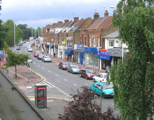 Shopping Parade, St. Marys Lane, Upminster, Essex