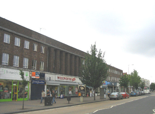 Shops, Corbets Tey Road, Upminster, Essex