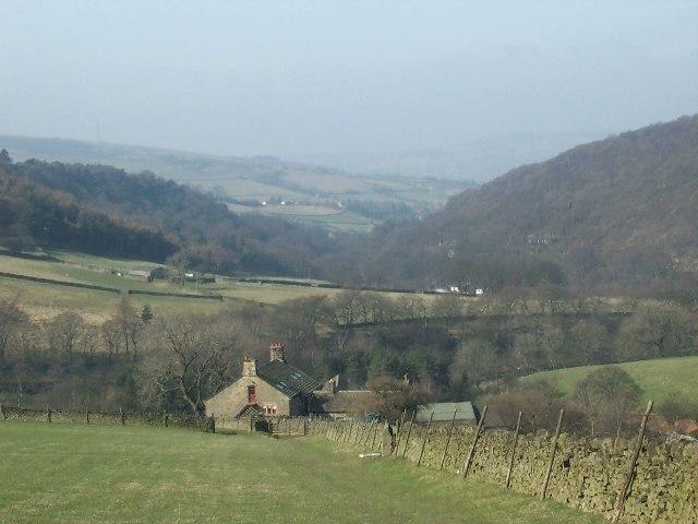 Above Tunstead Clough Farm