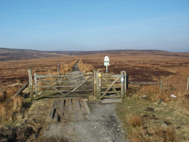 Pennine Way at A57 Snake Pass summit