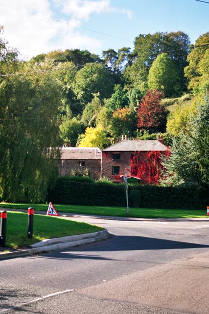 Road Junction in Lower Lydbrook (Wye Valley)
