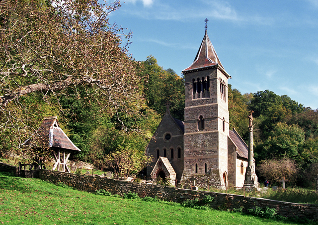 Church at Welsh Bicknor (Wye Valley)