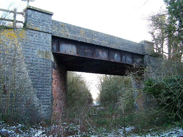 Bridge over the former Banbury to Cheltenham railway