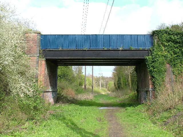 Bridge over the former Guildford to Farnham railway