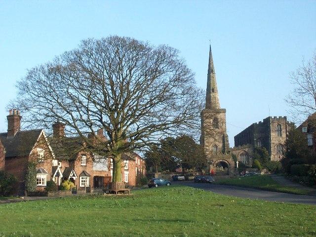 Astbury Church & Green
