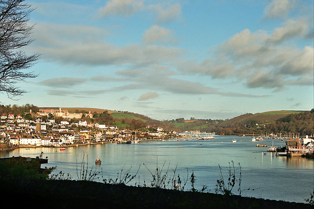 The Estuary of the River Dart at Dartmouth