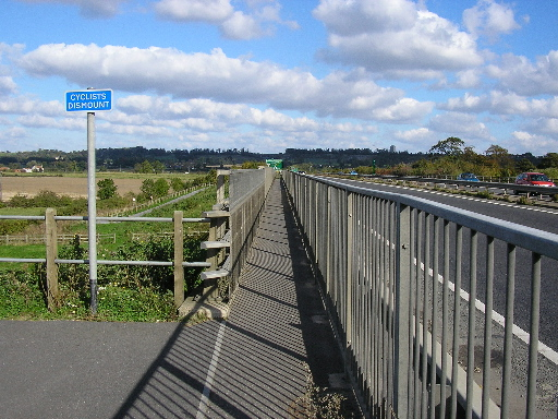 Bridge across the Fossdyke