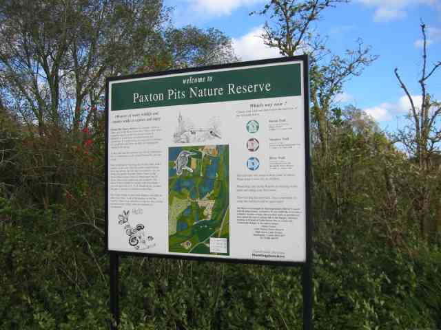 Paxton Pits Nature  Reserve