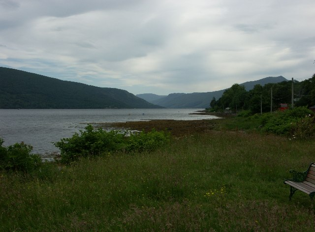 View up Loch Fyne from St Catherine's