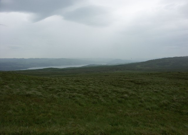 View towards Loch Fyne from near Strathlachan Forest
