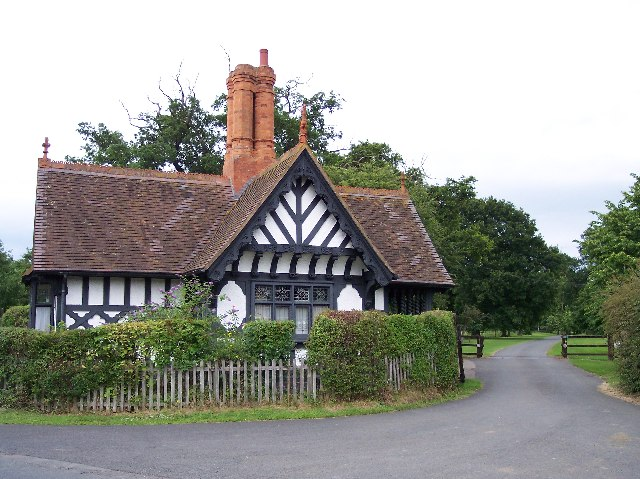 Gate House, Madresfield Court.