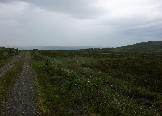 Moors near top of Strathlachan Forest