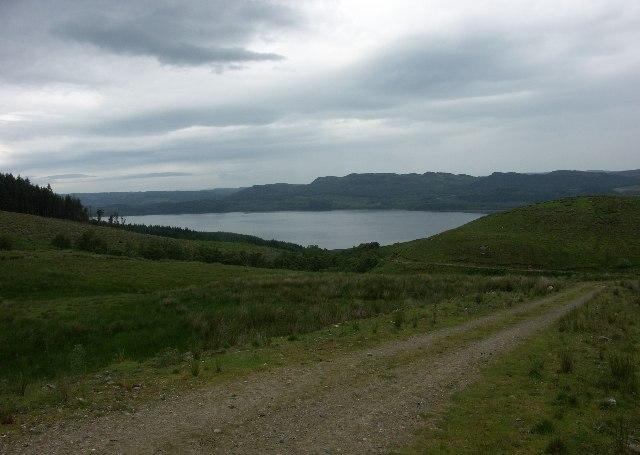 Loch Fyne from Strathlachan Forest