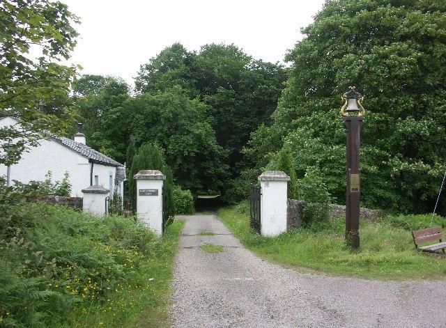 Entrance to Tighnabruaich Cemetery