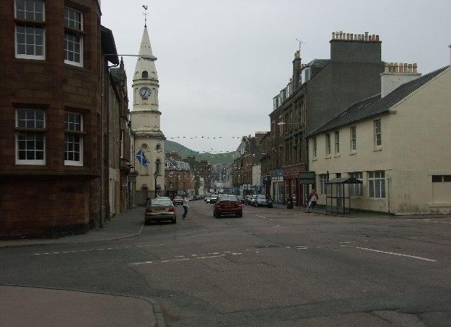 Campbeltown main street