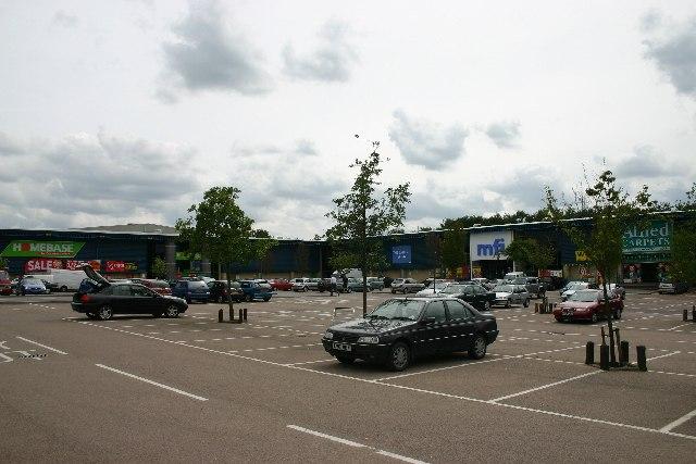 St Edmundsbury Retail Park