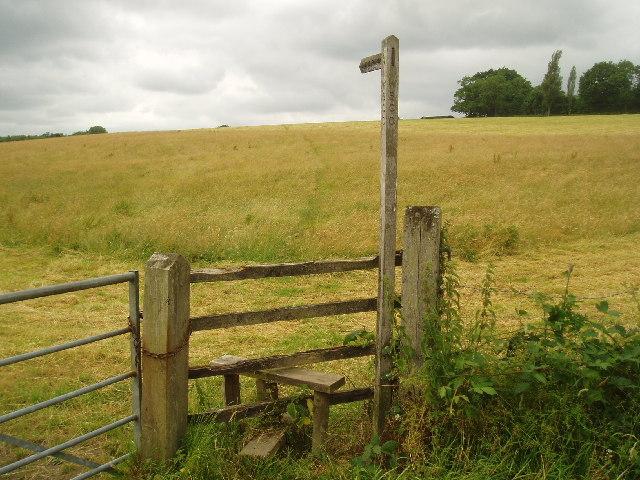 Footpath to Little Oddynes Farm