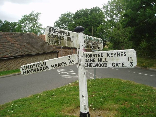 Crossroads at Horsted Keynes