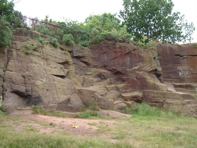Pex Hill - abandoned quarry