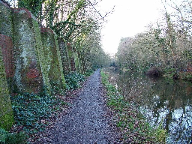Basingstoke Canal near St. Johns, Woking