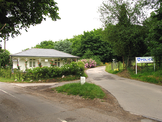 Entrance to Training Centre: Sulhamstead