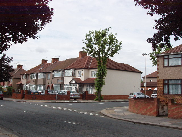 Houses in Mornington Road, Greenford
