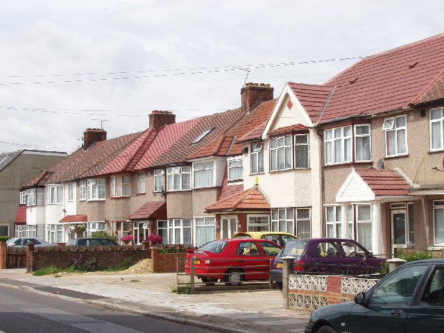 Houses on Allenby Road, Dormer's Wells