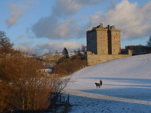 Borthwick Castle, North Middleton
