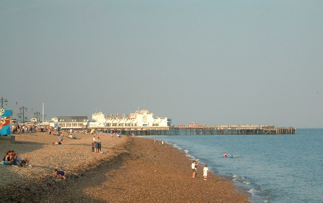 Sunny Evening, Southsea Pier
