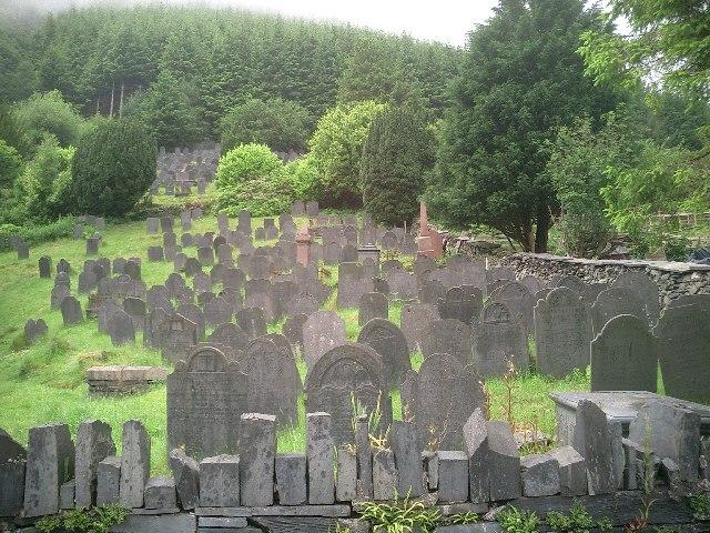 Cemetery near Pen-Rhiw
