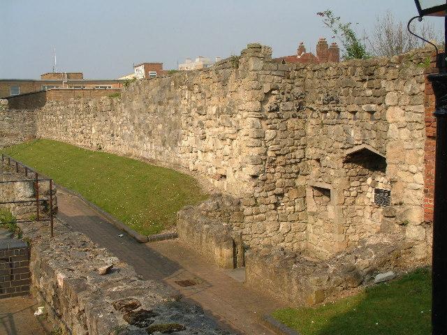 Friary Gate - Southampton City Wall