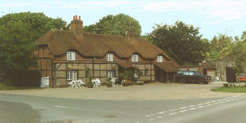 The George pub, Vernham Dean