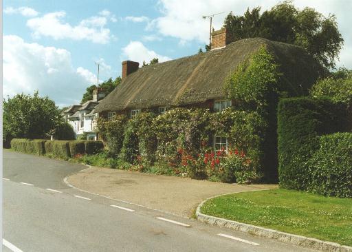 Thatched cottage, Vernham Dean