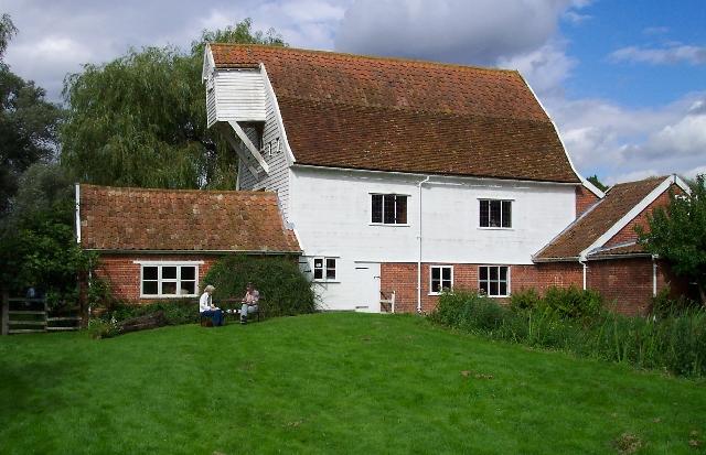 Watermill near Leatheringham, Suffolk.