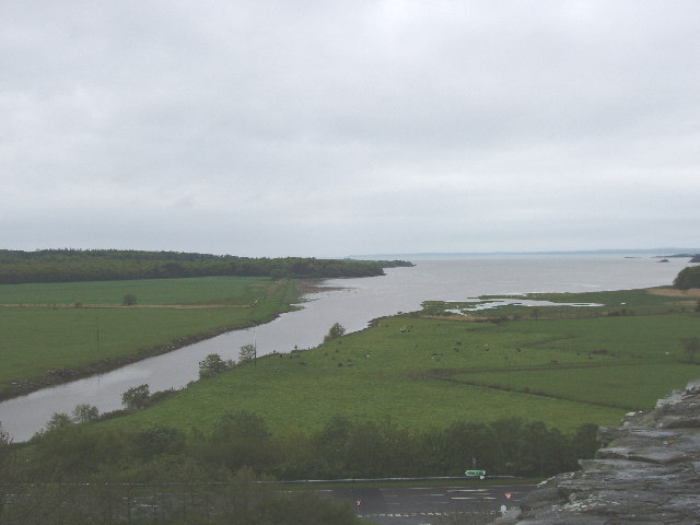 Water of Fleet estuary from Cardoness Castle