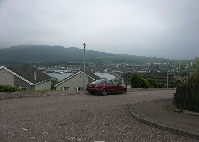View over Campbeltown Bay