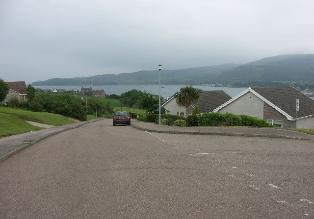View over Campbeltown Loch