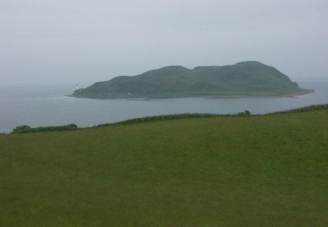 Davaar Island seen from near Baraskomill