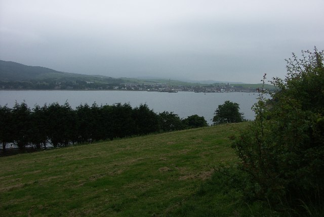 View over Campbeltown Bay from near Askomill