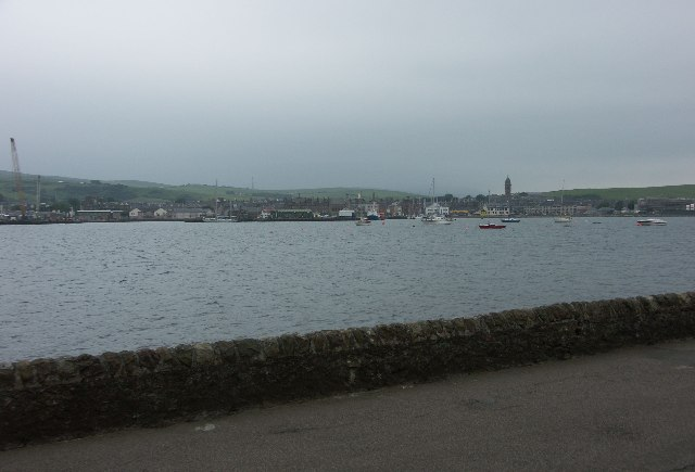 Campbeltown Bay from near Askomill