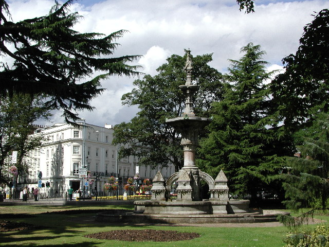 The Hitchman Fountain, Royal Leamington Spa