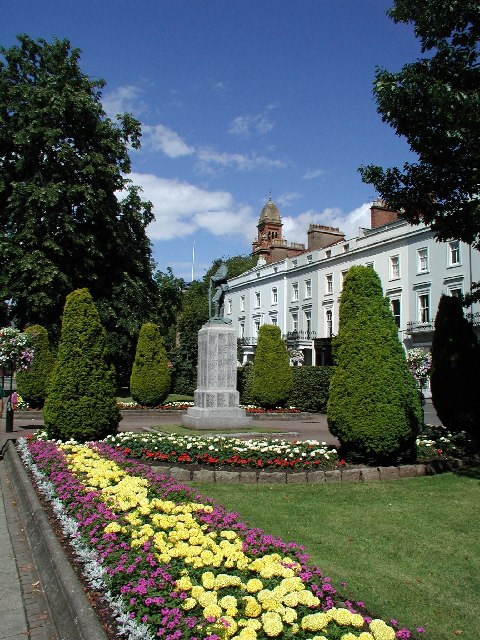 The War Memorial, Royal Leamington Spa
