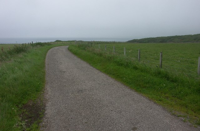 B843 near Machrihanish