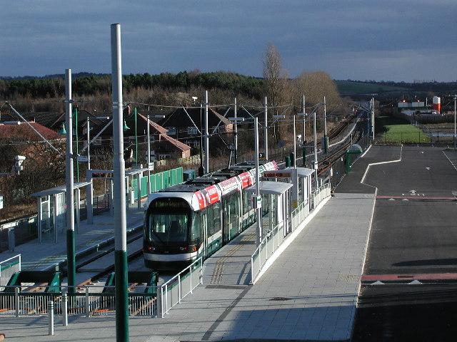 Hucknall Tram terminus