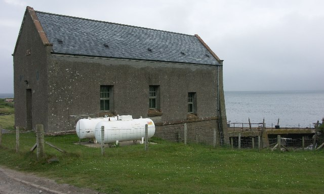 Disused lifeboat station Machrihanish