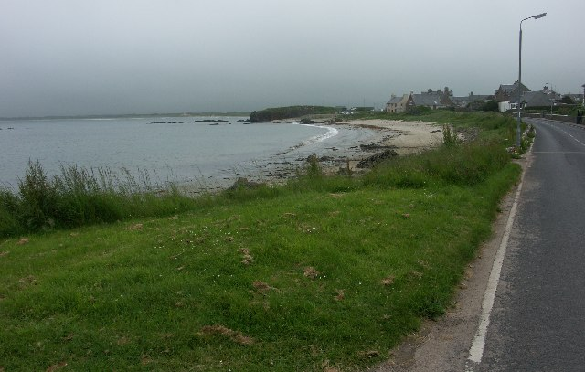Beach in Machrihanish village