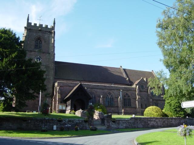 Church of St Swithun, Cheswardine