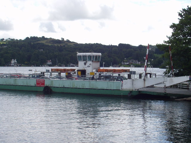 Ferry on Windermere