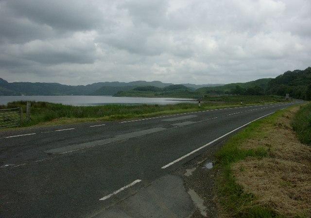 A816 near head of Loch Melfort